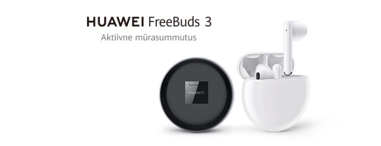 Nüüd saadaval: Huawei Freebuds 3 juhtmevabad mürasummutusega kõrvaklapid