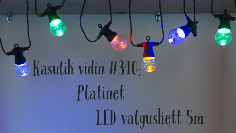 Kasulik vidin #340: Platinet LED valguskett POLCT10Z