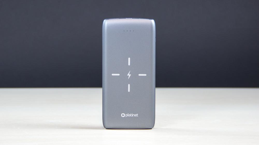 Platinet juhtmevaba akupank QI Wireless 10000mAh
