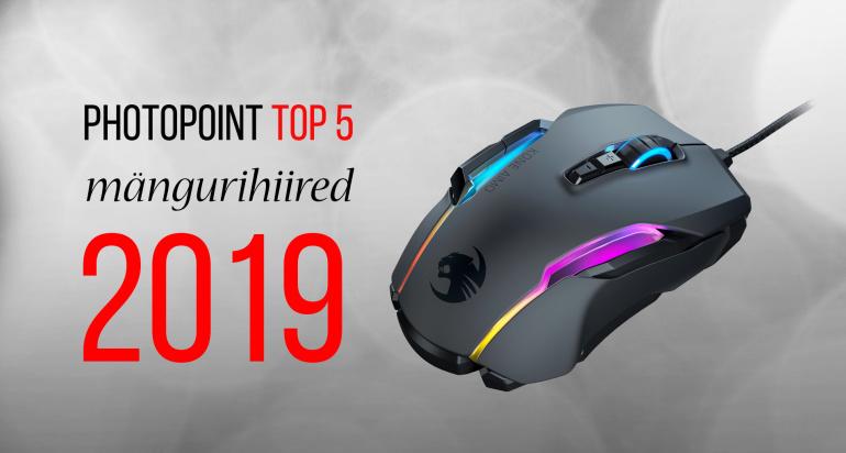 Photopointi TOP 5 – enim ostetud mängurihiired aastal 2019