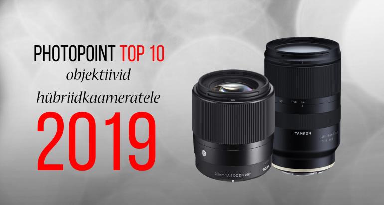Photopoint TOP 10: enim ostetud objektiivid hübriidkaameratele