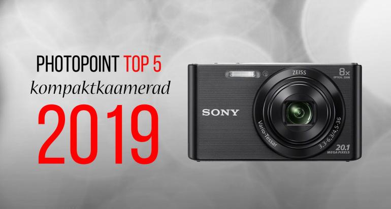 Photopoint TOP 10: enim ostetud kompaktkaamerad aastal 2019