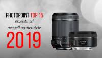 Photopoint TOP 15 – enim ostetud objektiivid peegelkaameratele aastal 2019