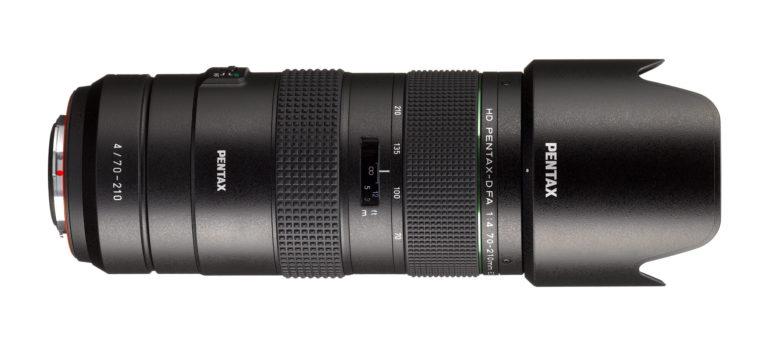 Ricoh toob turule uue kompaktse telesuumobjektiivi HD PENTAX-D FA 70-210mm F4 ED SDM WR