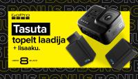 Seikle ja jaga – GoPro HERO8 Black ostul saad meie poolt kaks kingitust