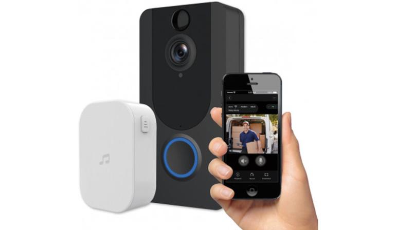 Platinet nutikas kaameraga uksekell tõstab kodu turvalisust