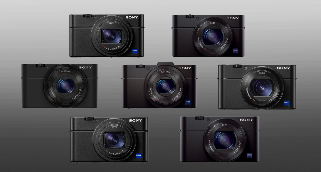 Sony RX100 seeria