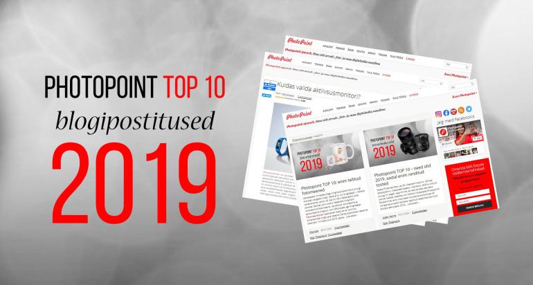 Photopoint TOP10: enim loetud blogipostitused aastal 2019