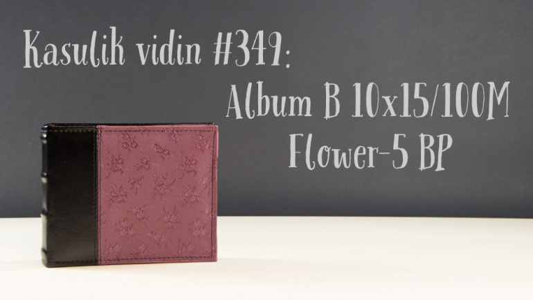 Kasulik vidin #349: Album B 10x15/100M Flower-5 BP