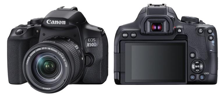 Canon EOS 850D peegelkaamera toob 4K video ja tõhusama autofookuse