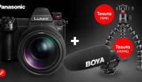 Valitud Panasonic Lumix hübriidkaamera ostul saad kaks funktsionaalset kingitust
