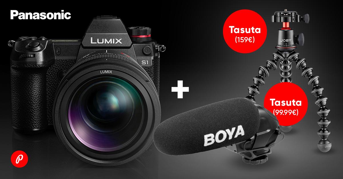 Panasonic Lumix hübriidkaamerad