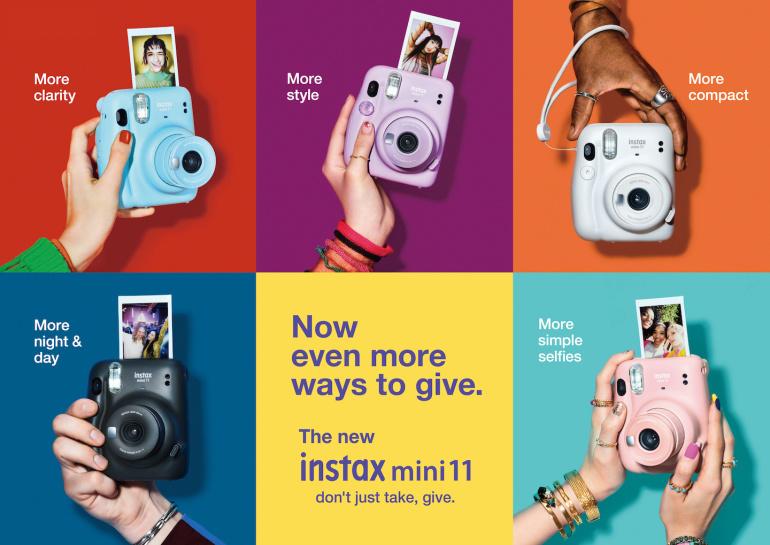 Nüüd saadaval: Fujifilm Instax Mini 11 kiirpildikaamerad