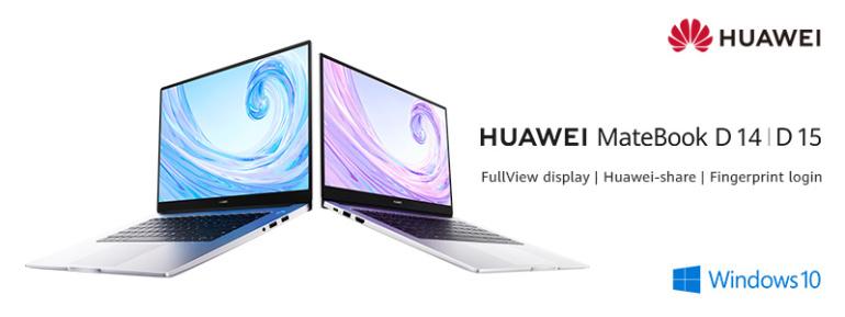 Photopointi on müügile jõudnud õhukese disainiga Huawei Matebook D 14 ja D 15 sülearvutid