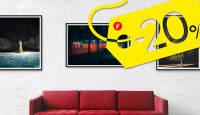 KAMPAANIA: Suured pildid tühjale seinale 20% odavamalt
