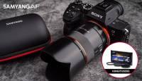Uus Samyang AF 75mm f/1.8 FE portreeobjektiiv on nüüd müügil
