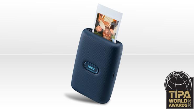 2020. aasta parim kaasaskantav fotoprinter on FUJIFILM Instax Mini Link