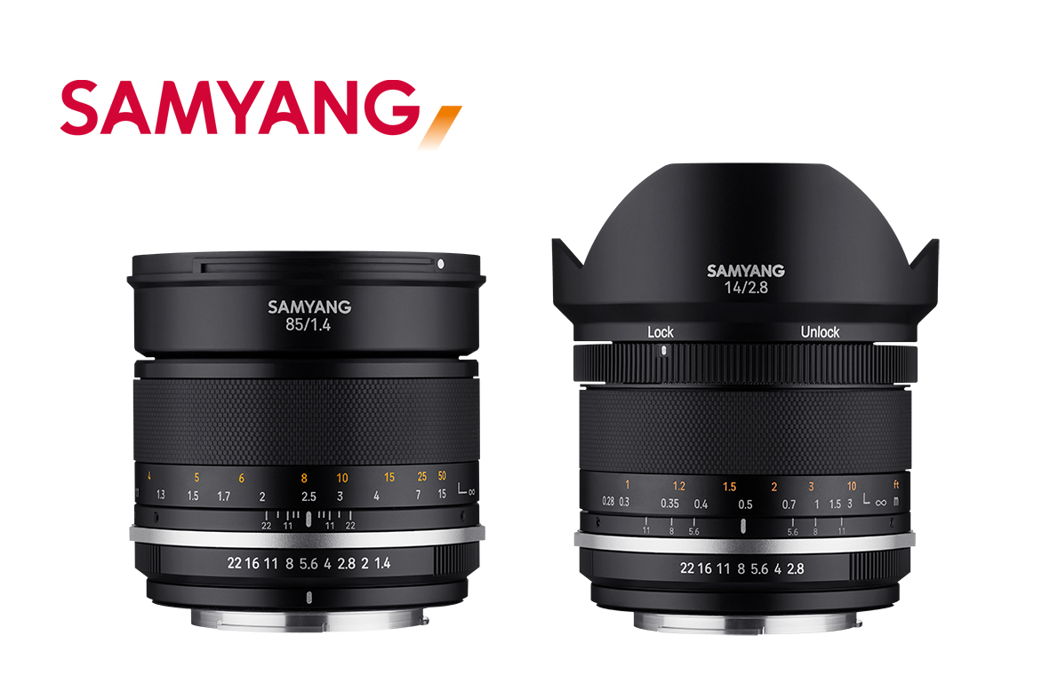 Samyang MF 14mm ja 85mm MKII