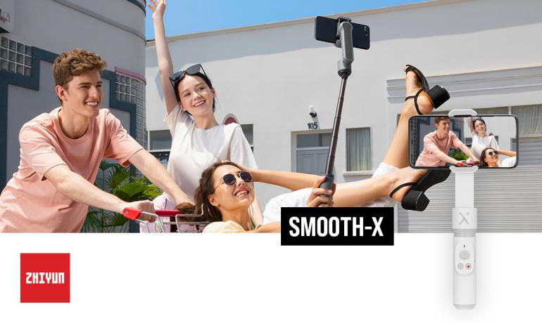 Jäädvusta maailma uue Zhiyun Smooth-X  kokkuvolditava stabilisaatori abil