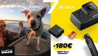 GoPro HERO7 Black erikomplekt on suisa 180€ soodsam