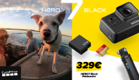 GoPro HERO7 Black erikomplekt on taas suisa -200€