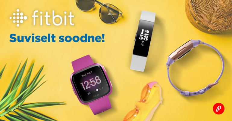 Fitbit Versa Lite ja Fitbit Inspire HR on müügil suvehinnaga
