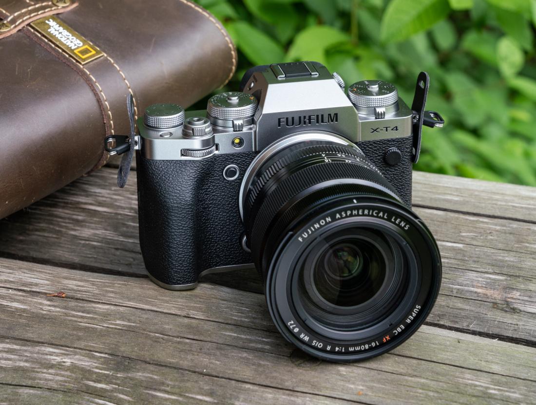 Fujifilm X-T4 hübriidkaamera