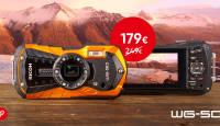Kõigekindel Ricoh WG-50 kompaktkaamera on 70€ soodsam