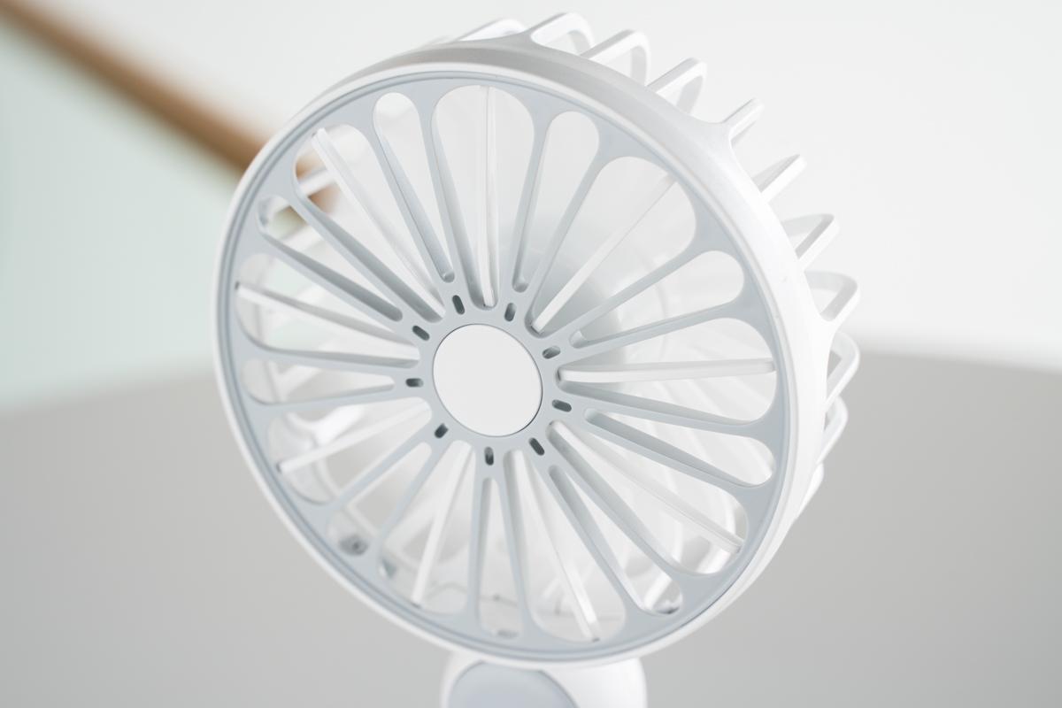 Platinet akuga ventilaator