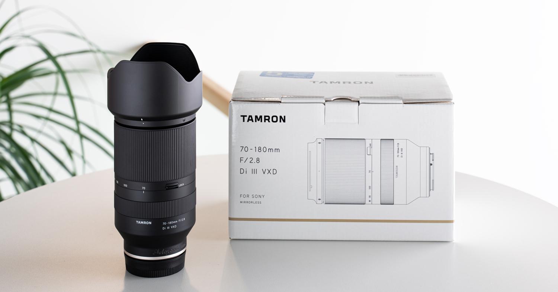 Tamron 70-180mm VXD Sonyle