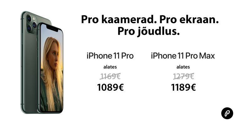 Apple iPhone 11 Pro ja Pro Max on müügil suvise soodushinnaga