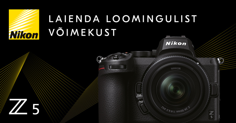 Uus Nikon Z 5 tundub olevat ideaalne esimeseks täiskaader hübriidkaameraks