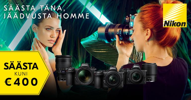 Nikon Z-seeria hübriidkaameratel ja objektiividel on hinnad all