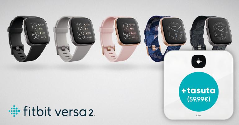 VEEL JÕUAD: imekauni ja nutika Fitbit Versa 2 kellaga saad kingituseks nutikaalu