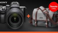 KAMPAANIA: Sony a7 seeria täiskaadri ostul saad kaasa mahukalt stiilse kingituse