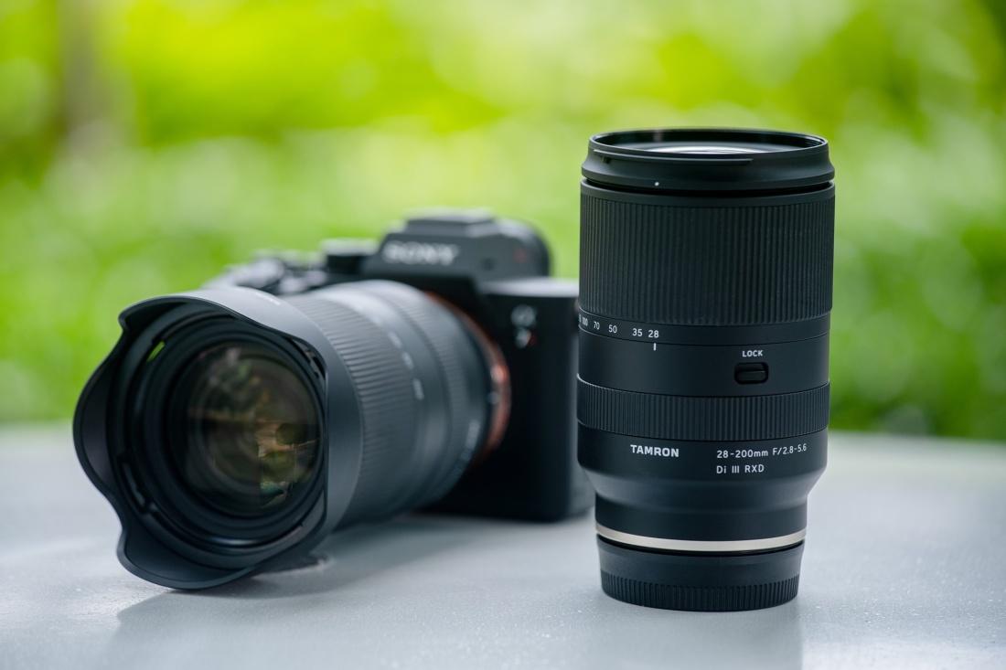 Tamron 28-200mm RXD objektiiv