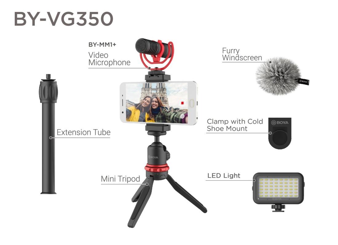 Boya vlogging kit Advanced BY-VG350