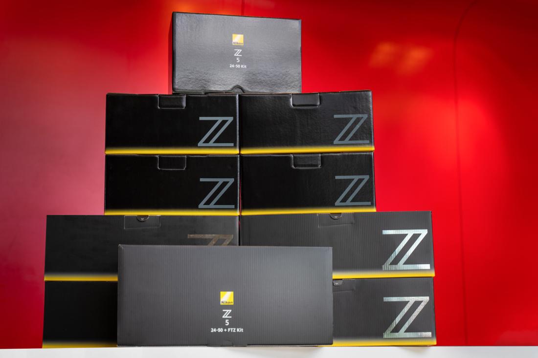 Nikon Z5 hübriidkaamera