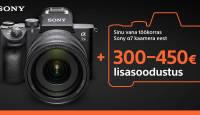Too oma vana Sony a7 või a7 II meile ja Sony a7 III on Sulle veel 300-450€ soodsam