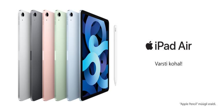 Uus 2020. aasta Apple Air tahvelarvuti näeb välja nagu Pro