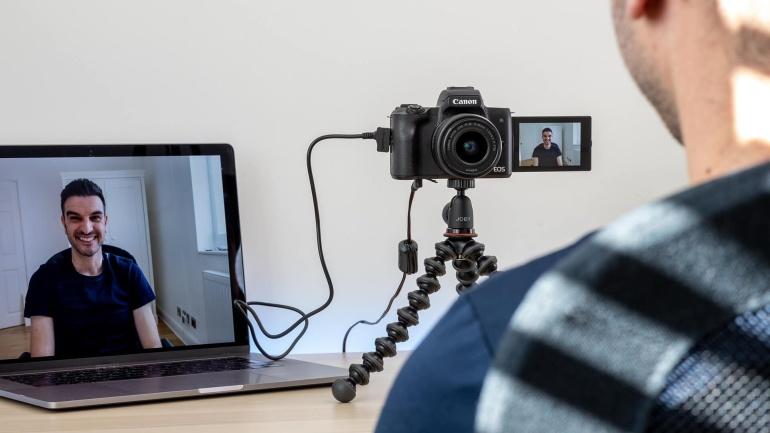 Canon Webcam Utility - muuda valitud EOS fotokaamera veebikaameraks