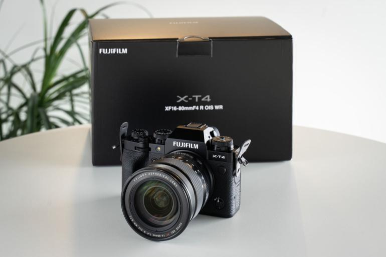 Nüüd rentimiseks: Fujifilm X-T4 + 16-80mm komplekt