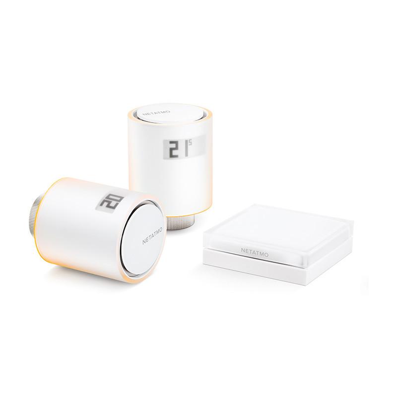 Netatmo termostaadikomplekt Smart Radiator Valves Starter Pack