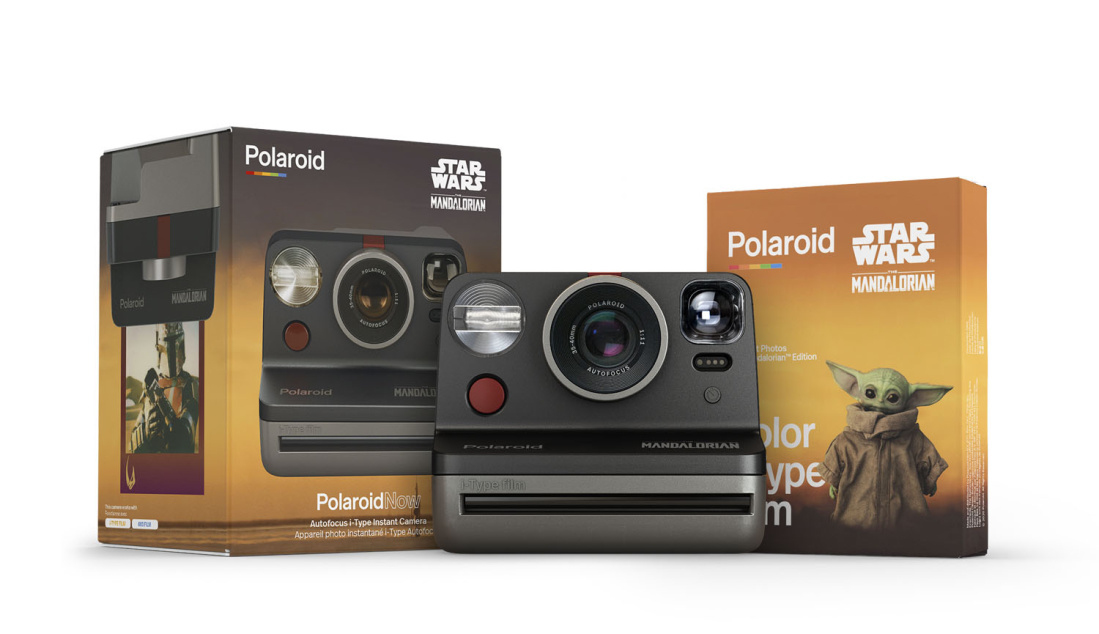 Polaroid Now Star Wars Mandalorian kiirpildikaamera