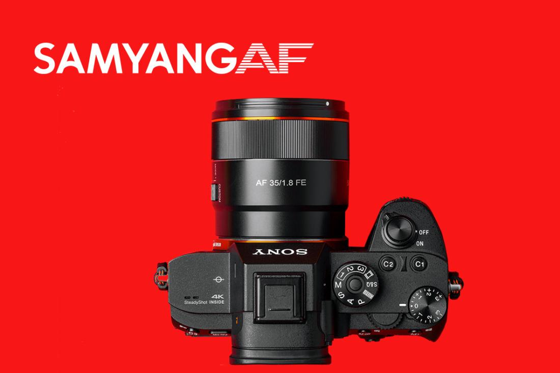 Samyang AF 35 mm F1.8 FE Sony objektiiv