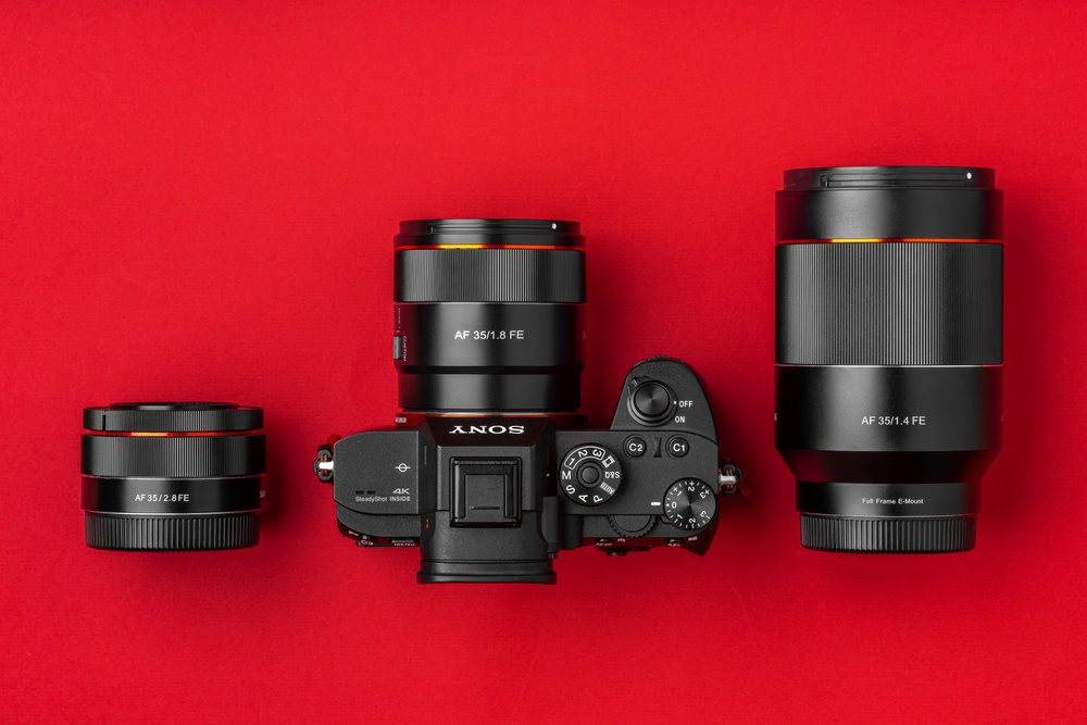 Samyang AF 35mm Sony