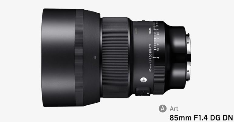 Nüüd saadaval: Sigma AF 85 f/1.4 DG DN Art Sony täiskaader hübriidkaameratele