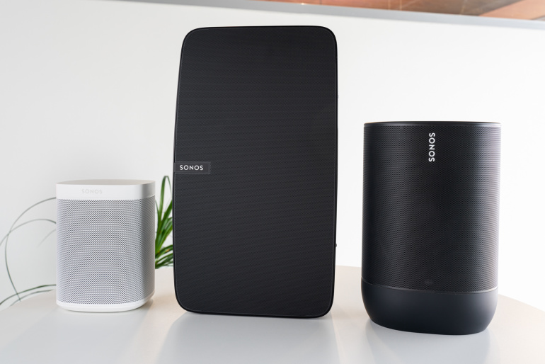 Digitest.ee: Sonos Move, Sonos One (Gen 2) ja Sonos Play:5 kõlarid