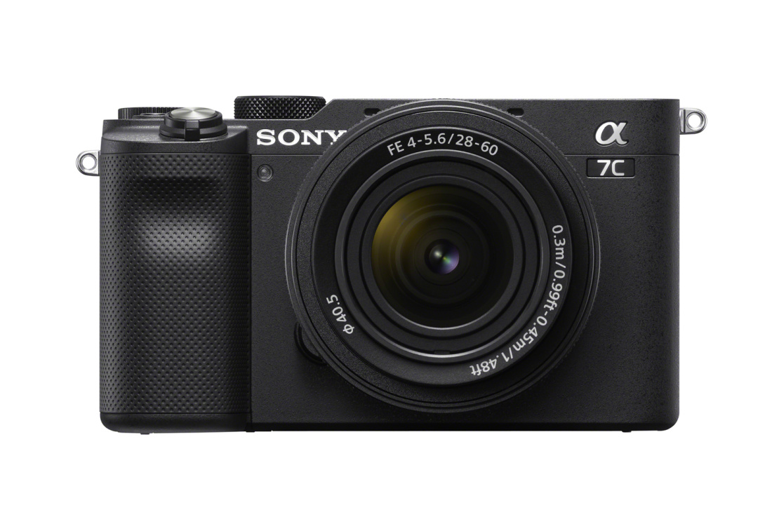 Sony a7c täiskaader hübriidkaamera