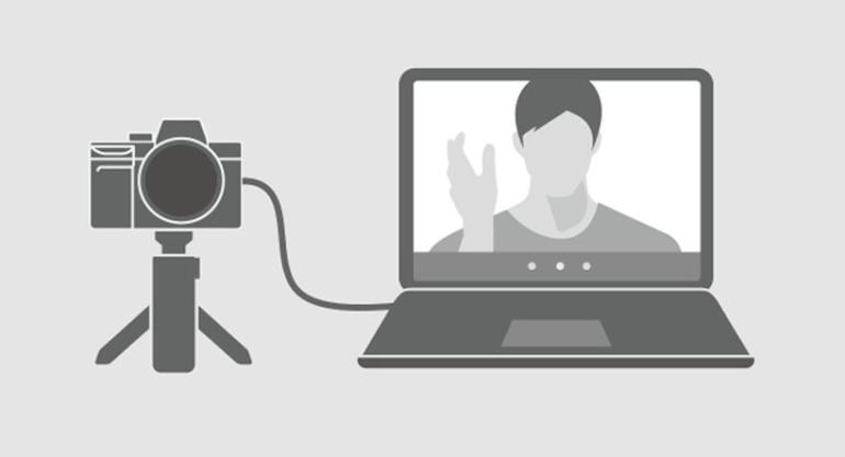 Imaging Edge Webcam abil saab valitud Sony fotokaamerast veebikaamera